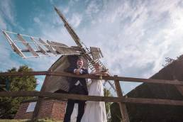 Wedding photography windmill